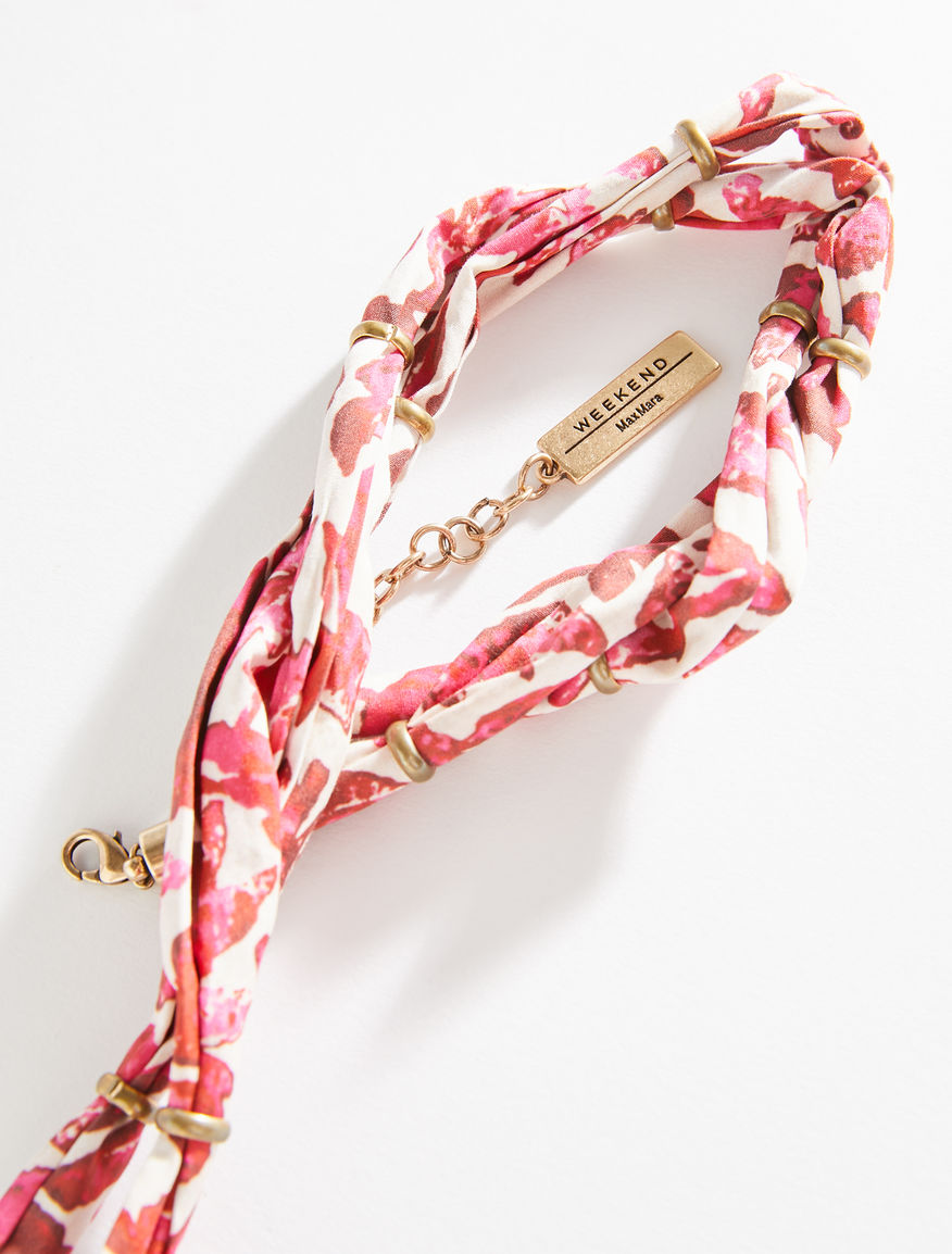 Ribbon necklace with charm Weekend Maxmara