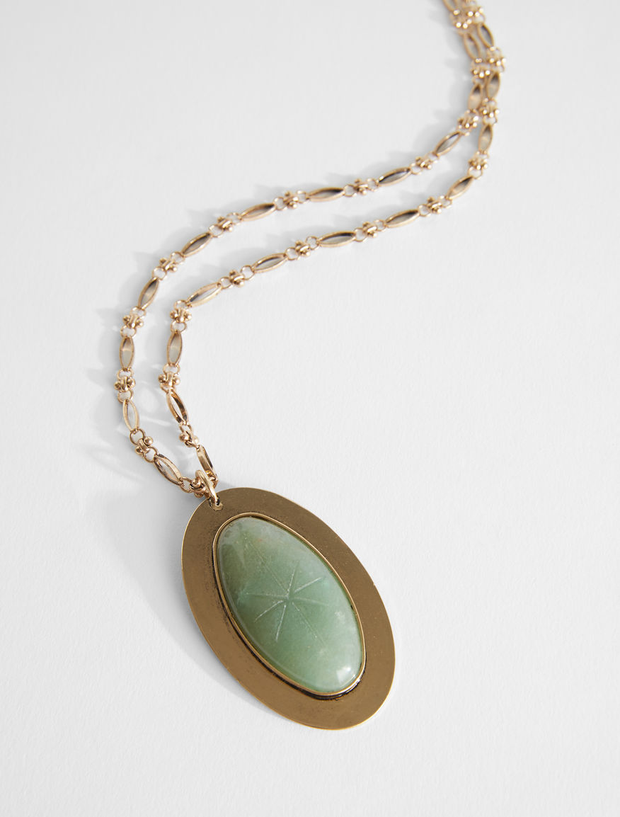 Necklace with a large pendant Weekend Maxmara
