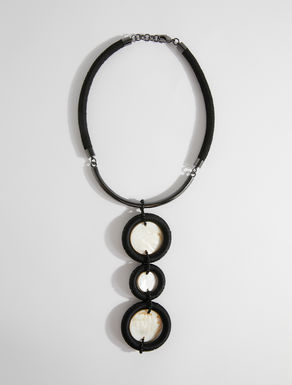 Necklace with mother of pearl pendant Weekend Maxmara