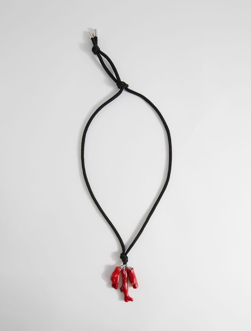 Coral pendant necklace Weekend Maxmara
