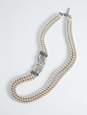 Collana tre fili con perle Weekend Maxmara