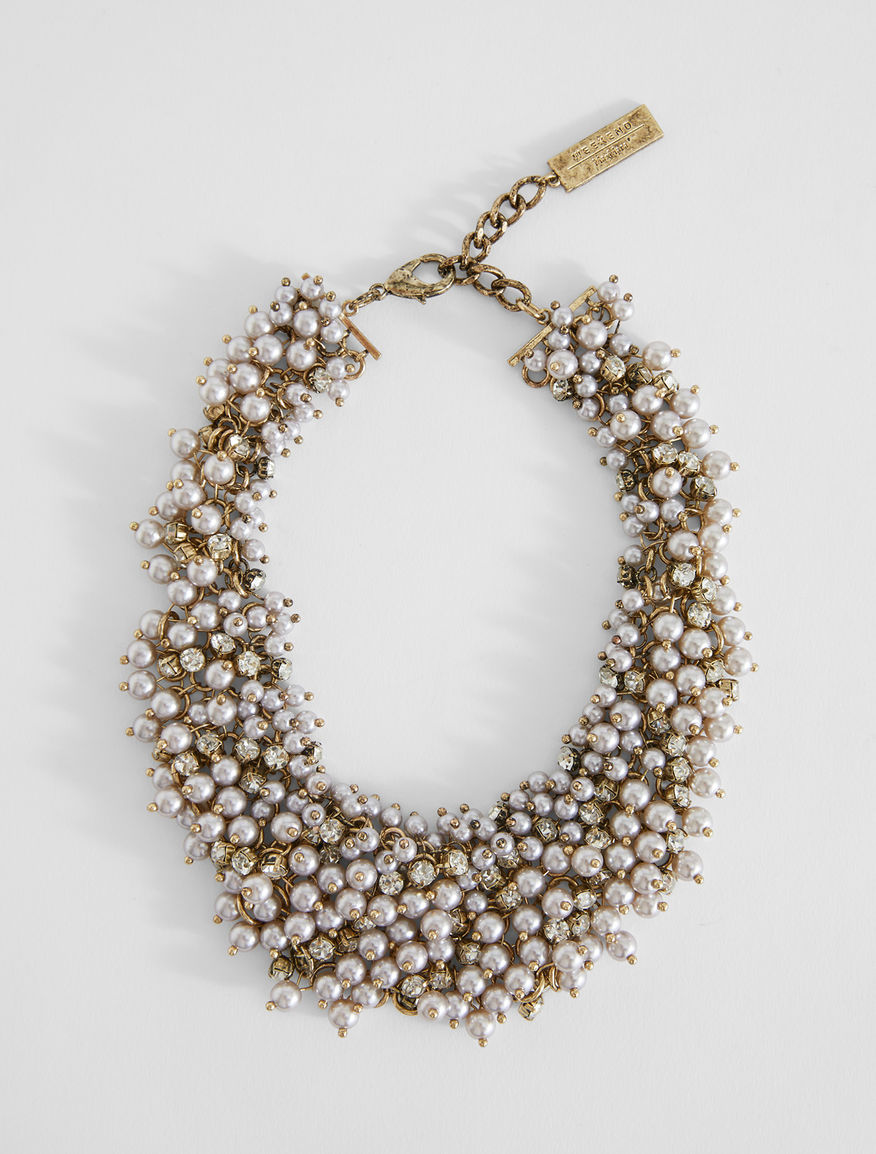 Bead and rhinestone necklace Weekend Maxmara