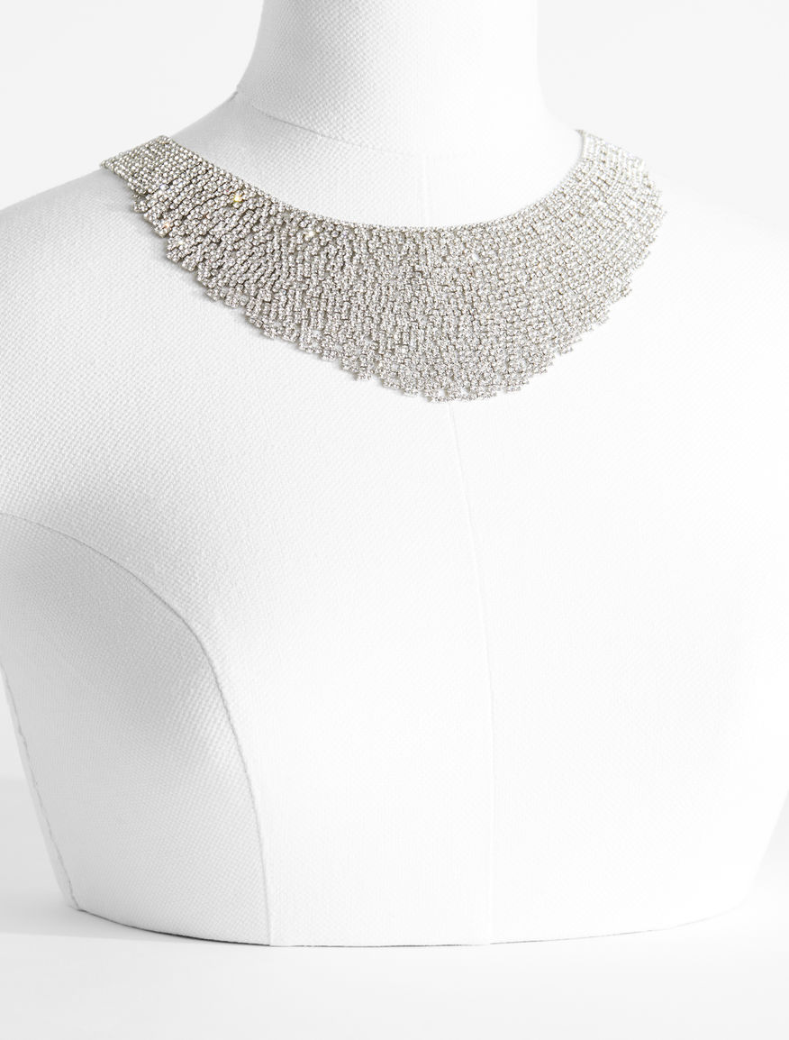 Metal and rhinestone necklace Weekend Maxmara