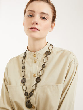 Metal necklace with coins Weekend Maxmara