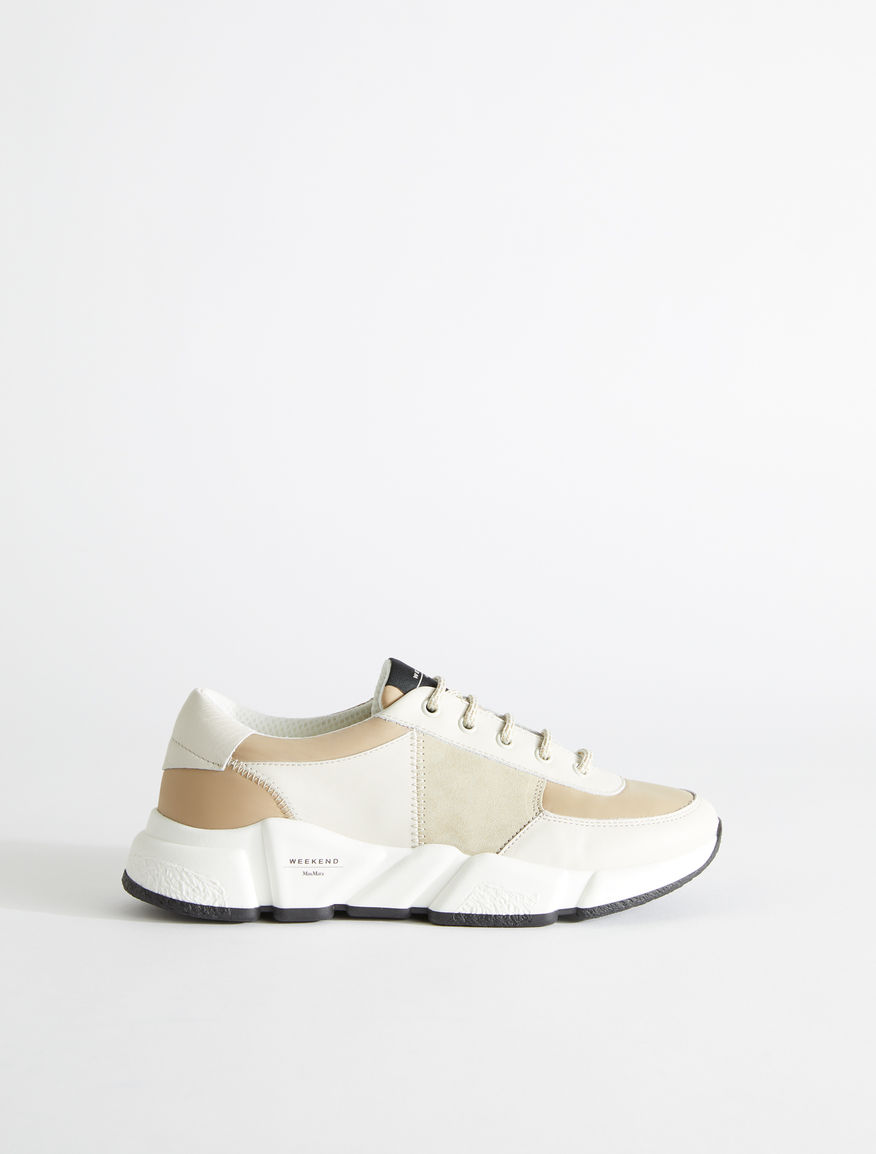 Suede leather sneakers Weekend Maxmara