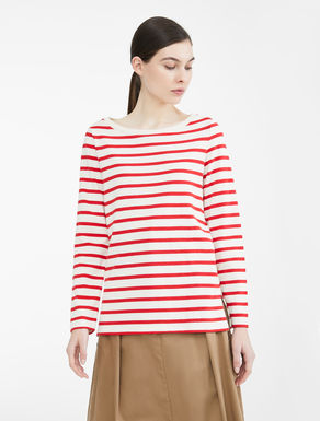Blusa in jersey di cotone Weekend Maxmara