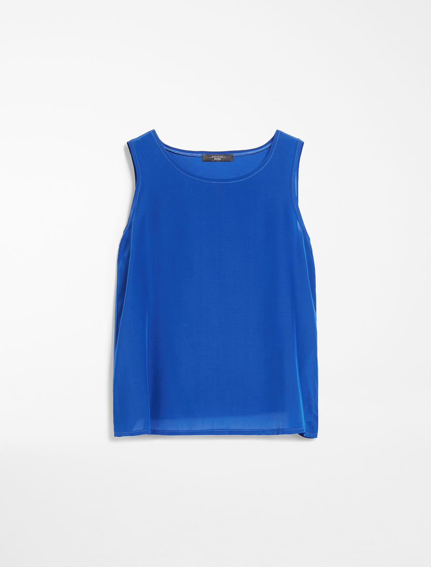 Cotton jersey top Weekend Maxmara