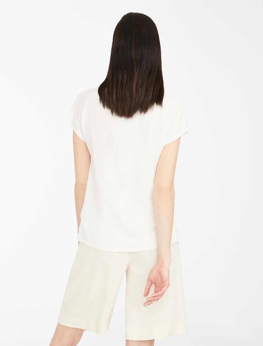 Stretch cotton jersey T-shirt Weekend Maxmara
