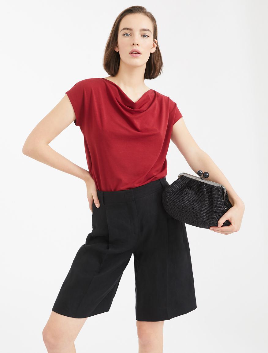 Stretch cotton jersey T-shirt Weekend Maxmara