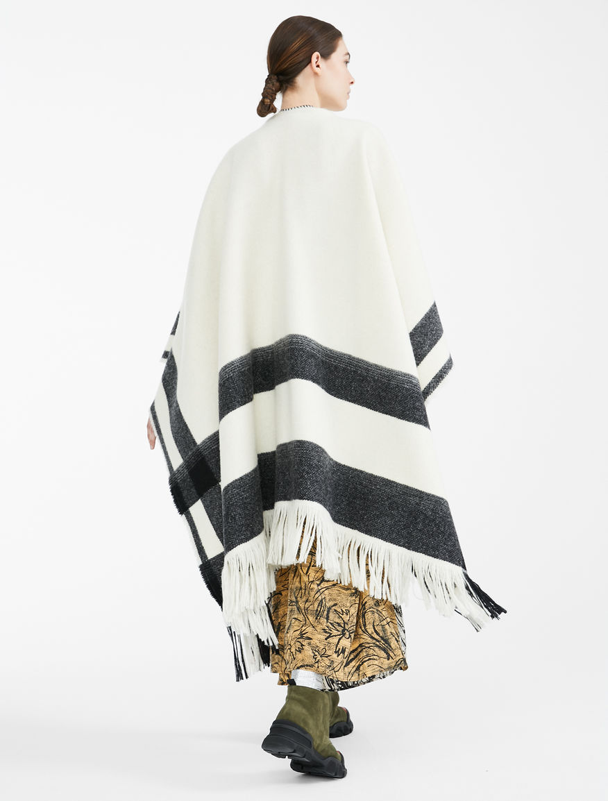 Re-Find wool poncho Weekend Maxmara