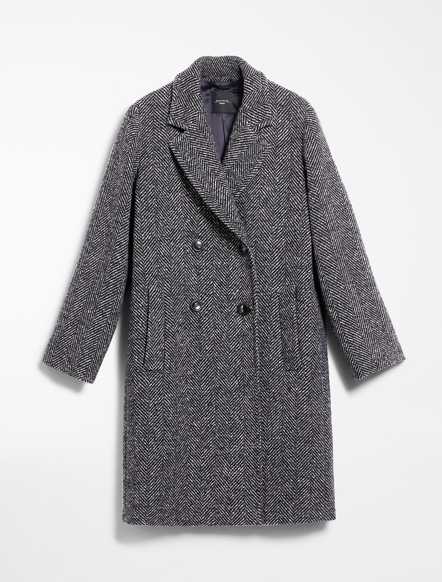 Wool tweed coat Weekend Maxmara