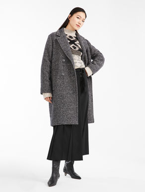 Cappotto in tweed di lana Weekend Maxmara