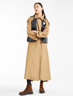 Water-repellent cotton trench coat Weekend Maxmara