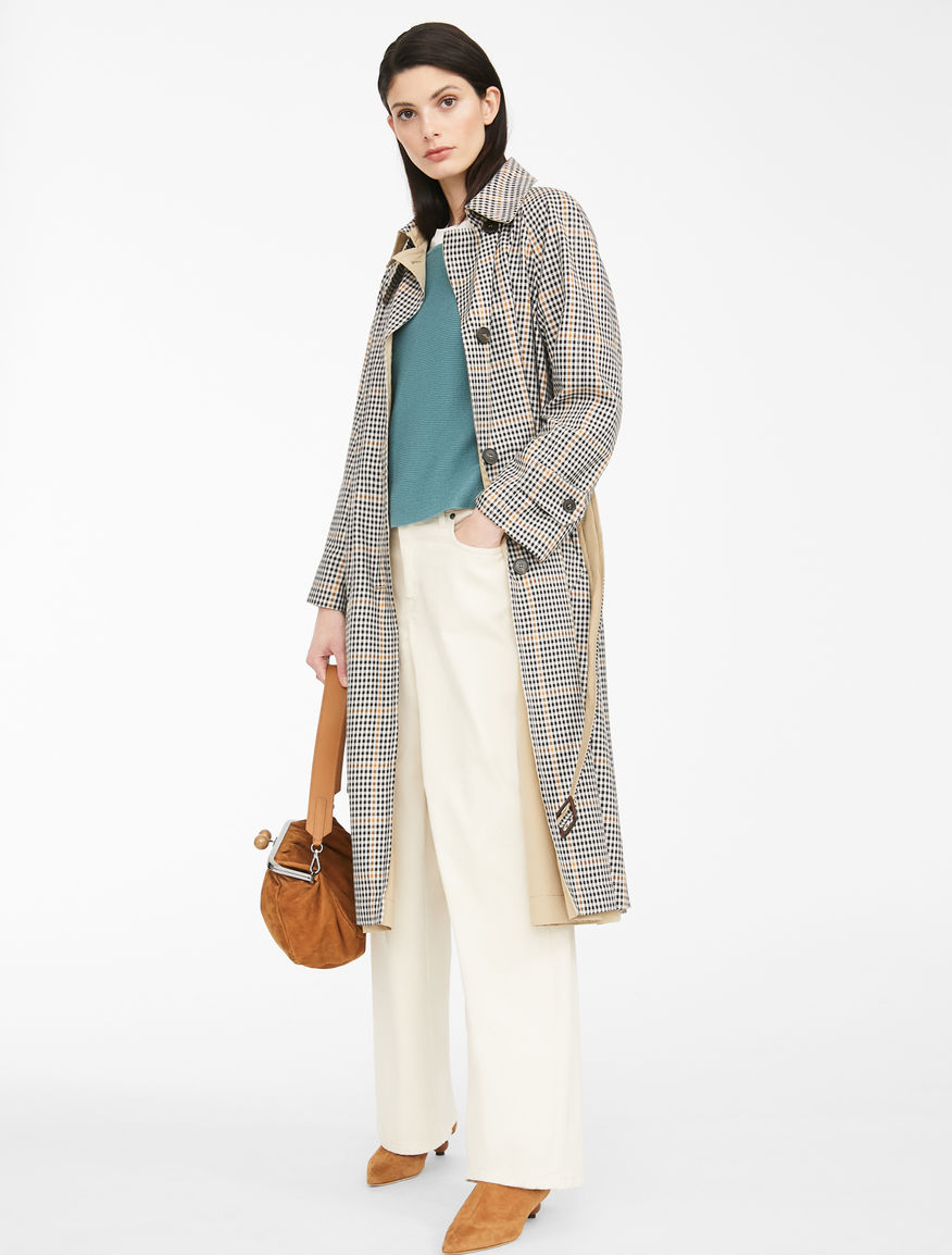 Reversible cotton trench coat Weekend Maxmara