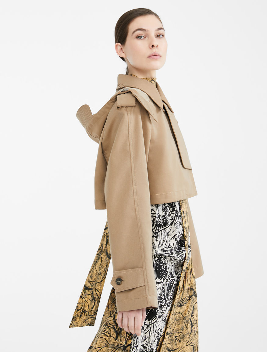 Re-Find water-repellent cotton trench coat Weekend Maxmara