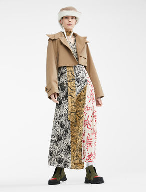 Trench Re-Find in cotone antigoccia Weekend Maxmara