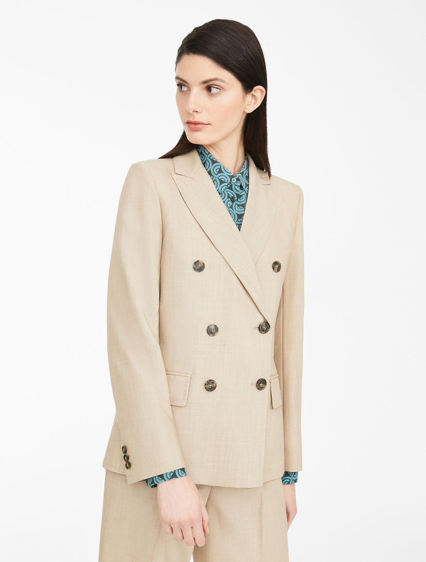 Blazer in tela di lana Weekend Maxmara