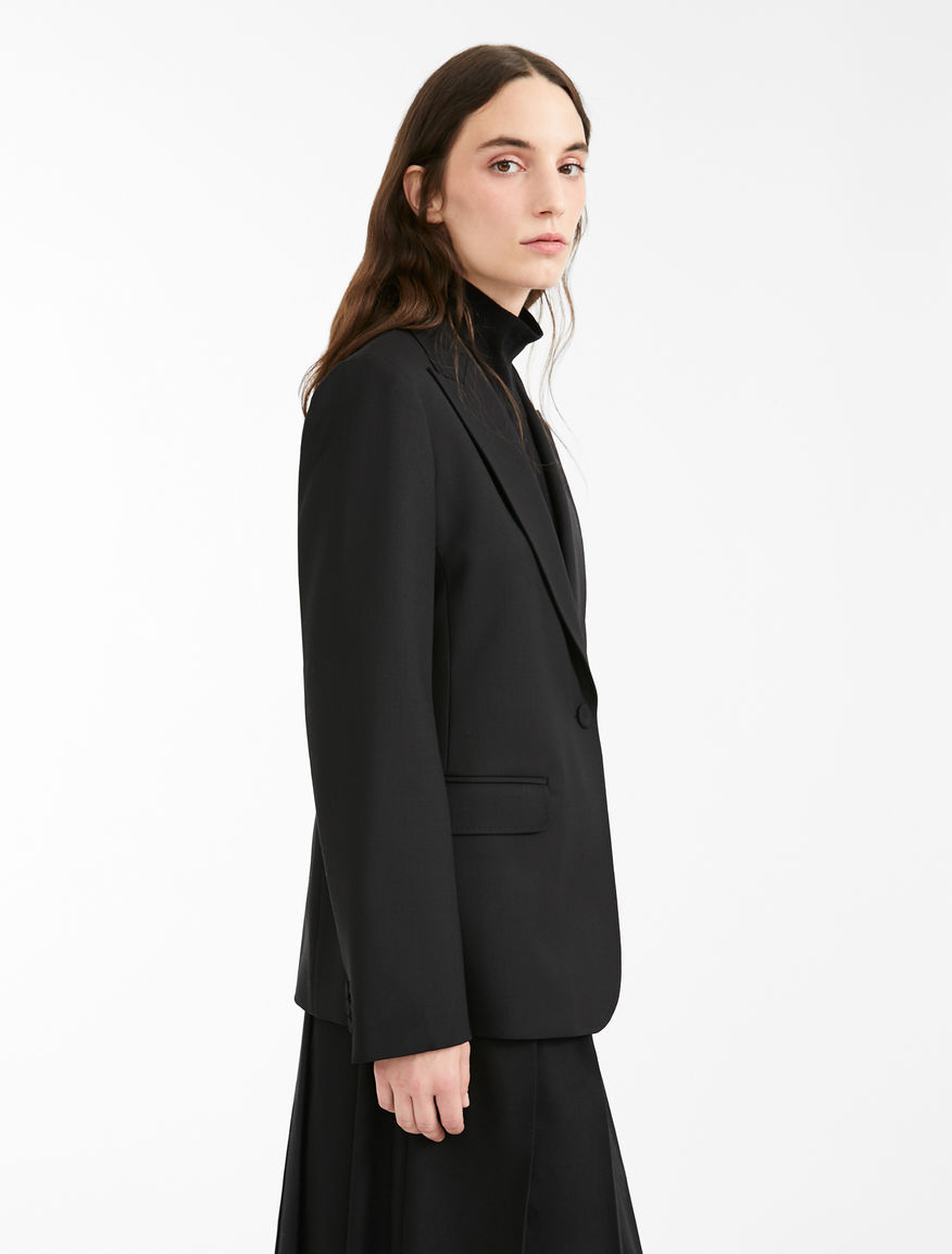 Wool gabardine blazer Weekend Maxmara