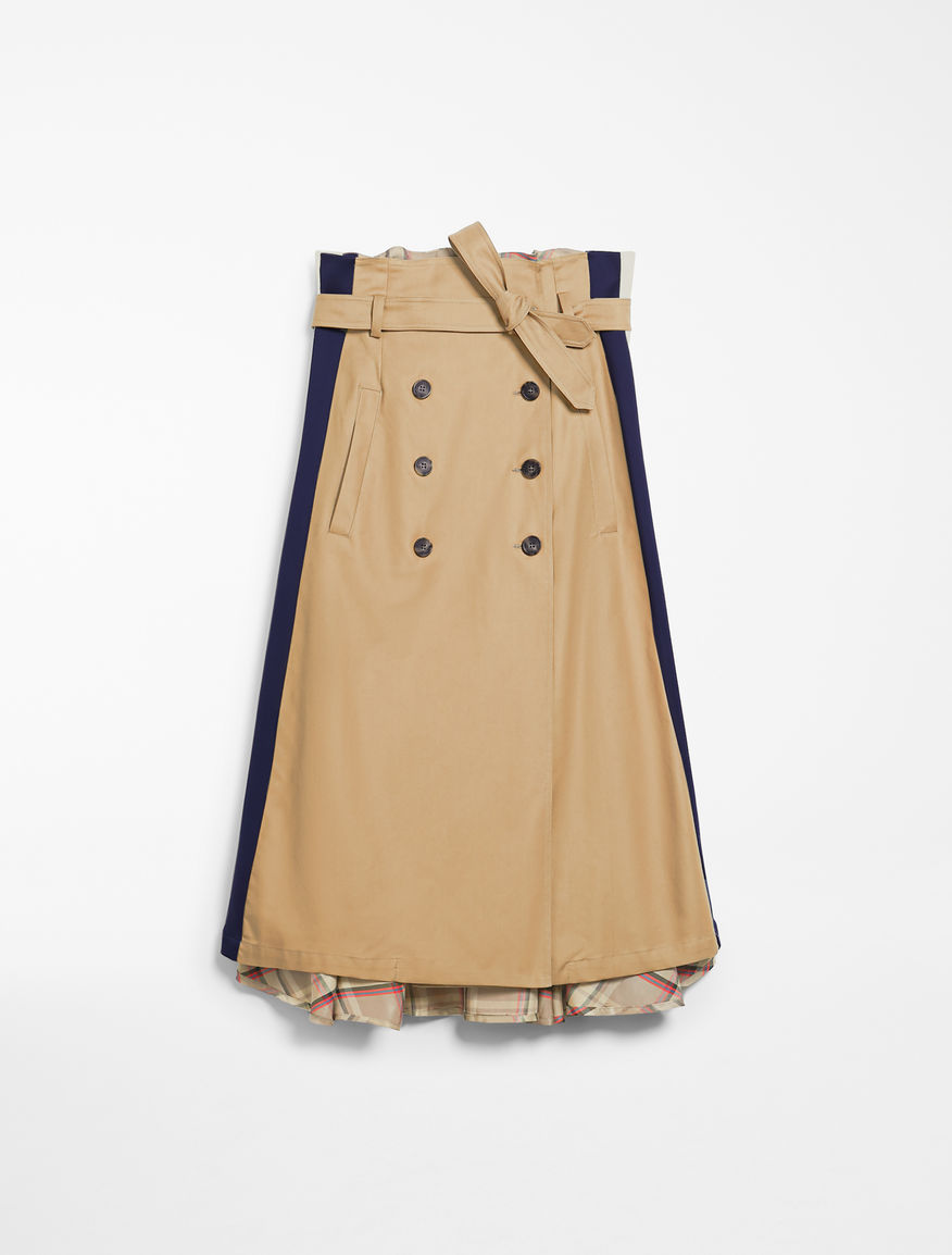 Cotton twill skirt Weekend Maxmara