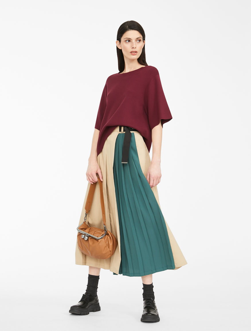 Cotton gabardine skirt Weekend Maxmara