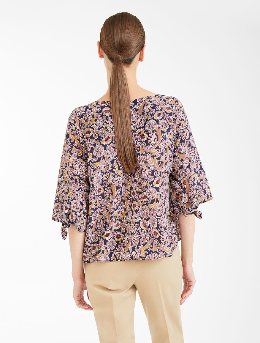 Silk crepe de chine blouse Weekend Maxmara