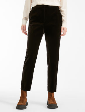 Cotton velvet trousers Weekend Maxmara