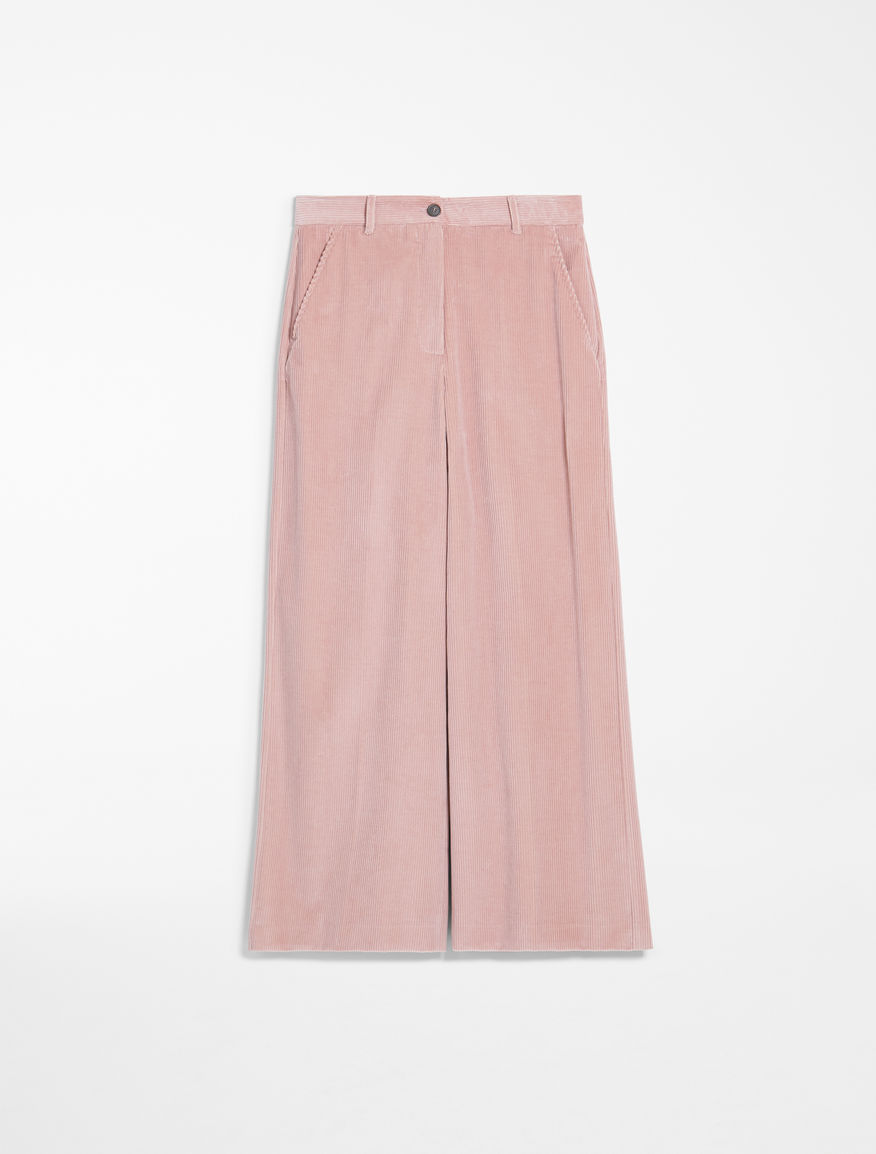 Cotton corduroy trousers Weekend Maxmara