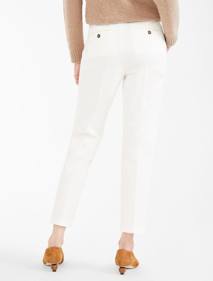 Cotton twill chinos Weekend Maxmara