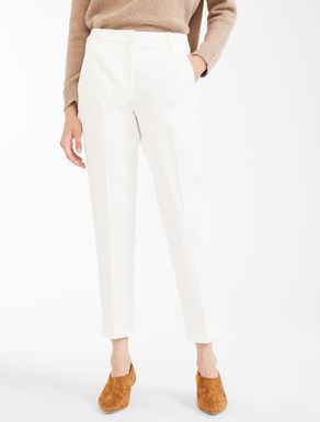 Pantaloni in twill di cotone Weekend Maxmara