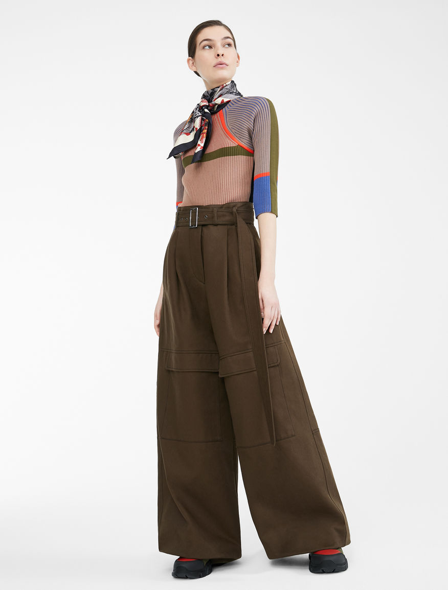 Re-Find cotton bull trousers Weekend Maxmara