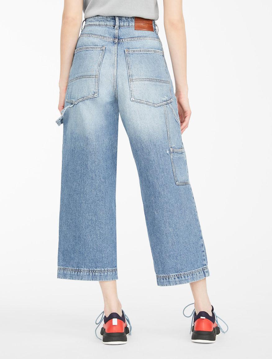Jeans cropped in denim Weekend Maxmara