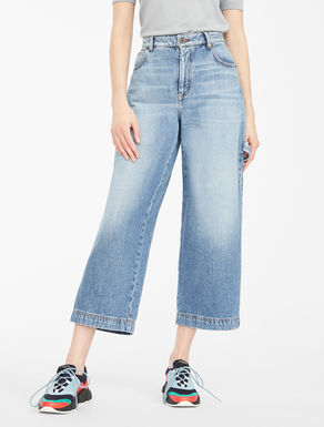 Jeans cropped in denim Weekend Maxmara