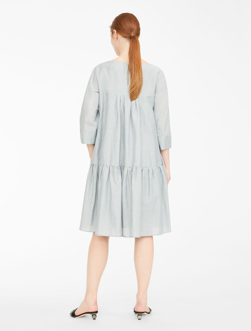 Dress in linen and cotton canvas Weekend Maxmara