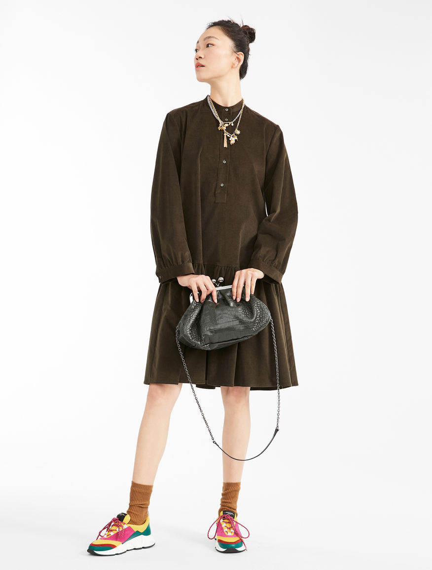 Cotton corduroy dress Weekend Maxmara