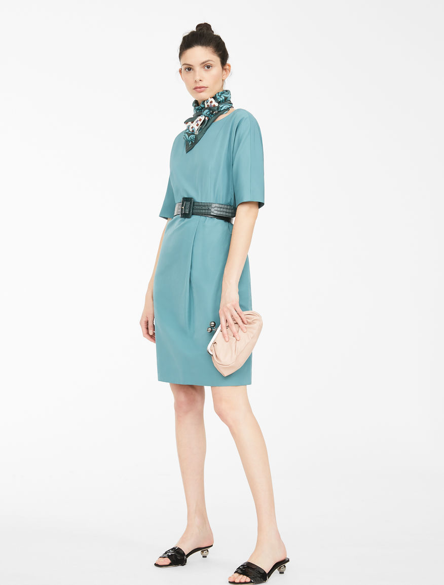 Cotton blend twill dress Weekend Maxmara