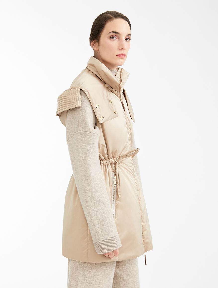 Water-repellent satin gilet Weekend Maxmara