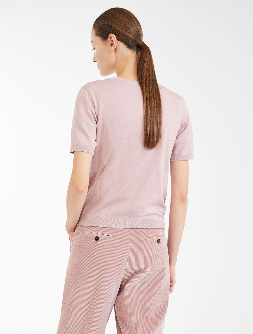 Cotton and silk yarn T-shirt Weekend Maxmara