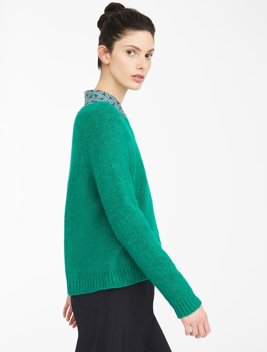 Cotton and alpaca wool yarn jumper Weekend Maxmara