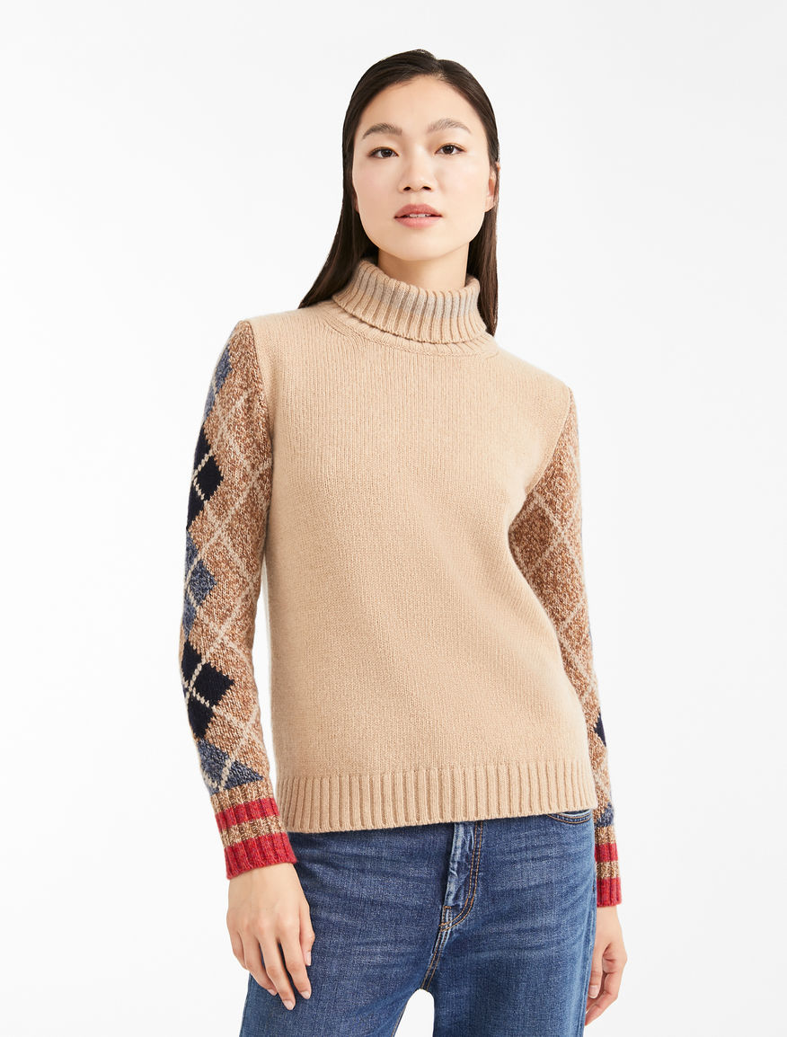 Cashmere polo neck jumper Weekend Maxmara