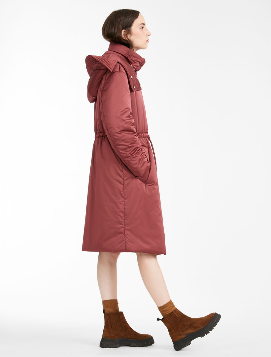 Water-repellent satin parka Weekend Maxmara
