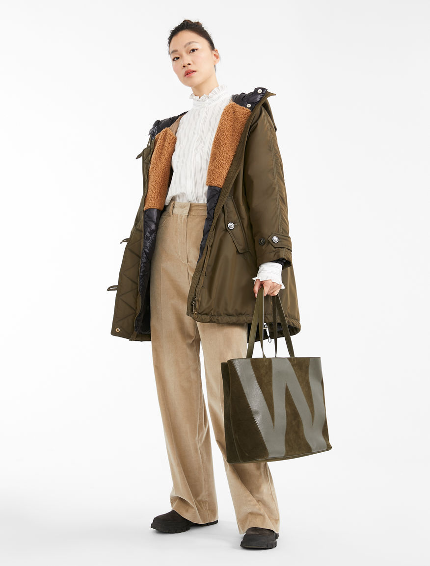 Water-repellent panama parka Weekend Maxmara