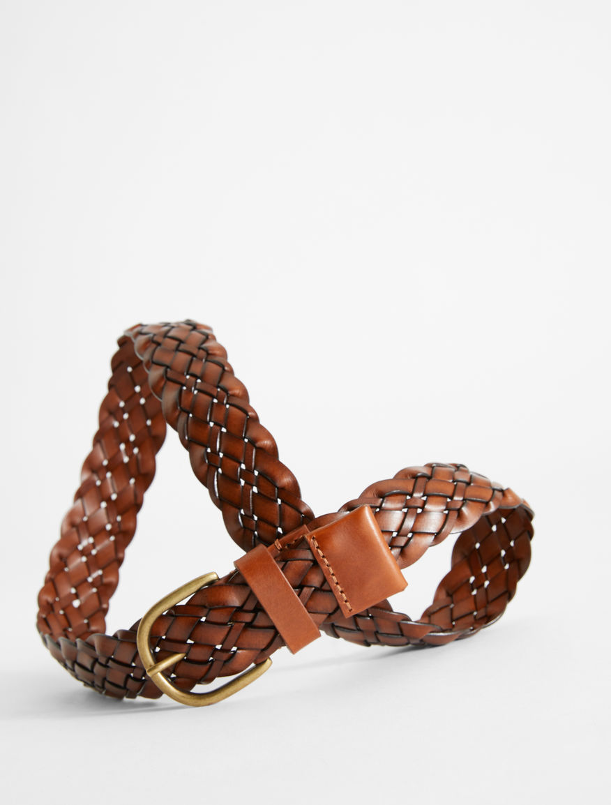 Braided leather belt Weekend Maxmara