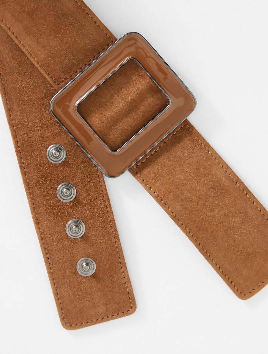 Suede leather belt Weekend Maxmara