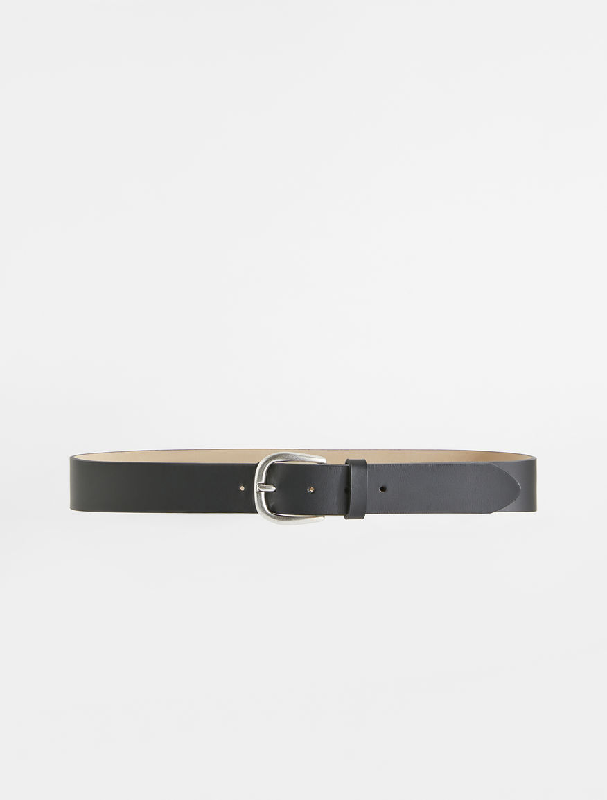 Semi-gloss leather belt Weekend Maxmara