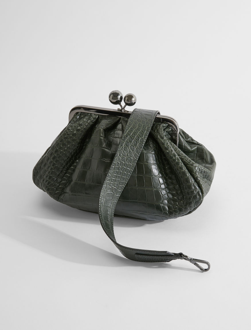 Pasticcino Bag medium in pelle stampa cocco Weekend Maxmara