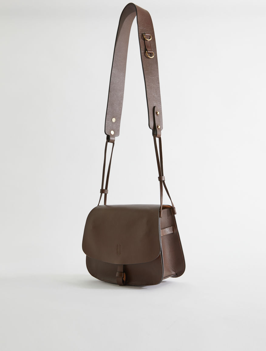 Leather crossbody bag Weekend Maxmara