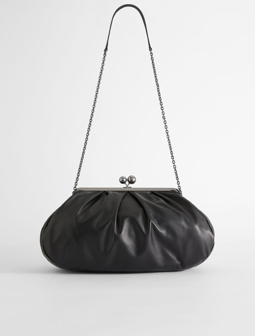 Large leather Pasticcino Bag Weekend Maxmara