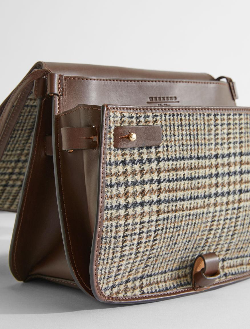 Leather and wool crossbody bag Weekend Maxmara