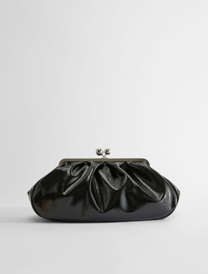 Large patent leather Pasticcino Bag Weekend Maxmara