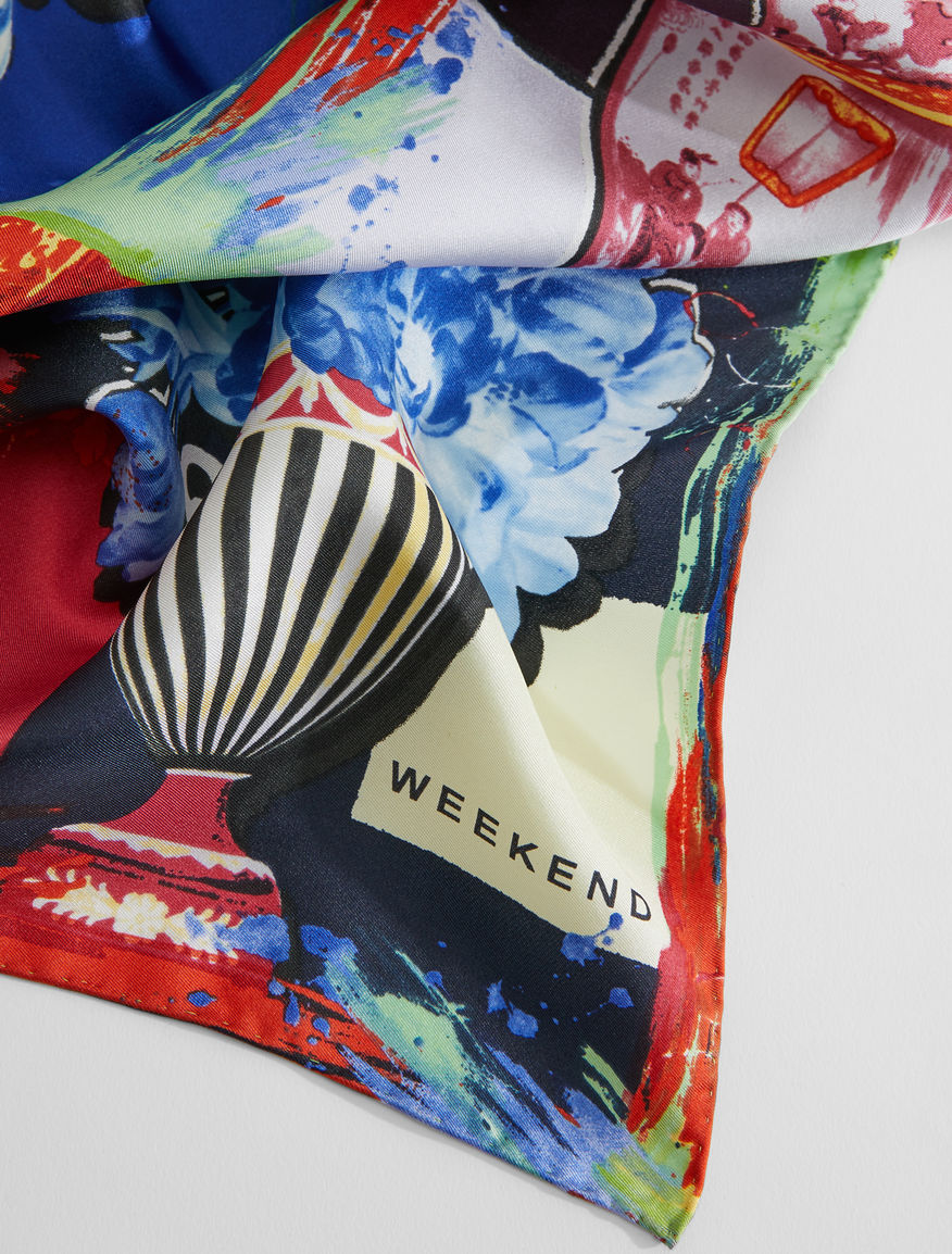 Silk twill scarf Weekend Maxmara